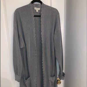 Sweater cardigan long